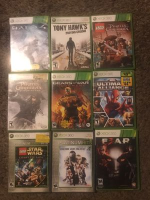 Bundle of 9 Xbox 360 games for Sale in Palmdale, CA