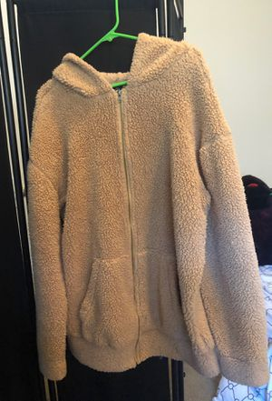 Sherpa jacket with hood , rue 21 for Sale in Portland, OR