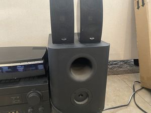 Yamaha stereo with KLIPSCH speakers and CD player for Sale in Littleton, CO