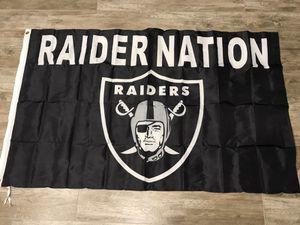 Raider nation flag for Sale in Modesto, CA