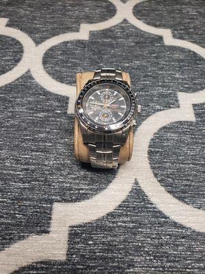 Men's MTP4500D-1AV Slide Rule Bezel Aviator Stainless Steel Watch for Sale in Irving, TX