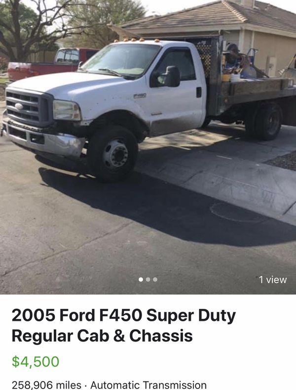 2005 Ford F450 Super Duty regular cab