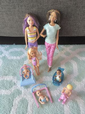 Barbie Set with babies for Sale in Westminster, CA
