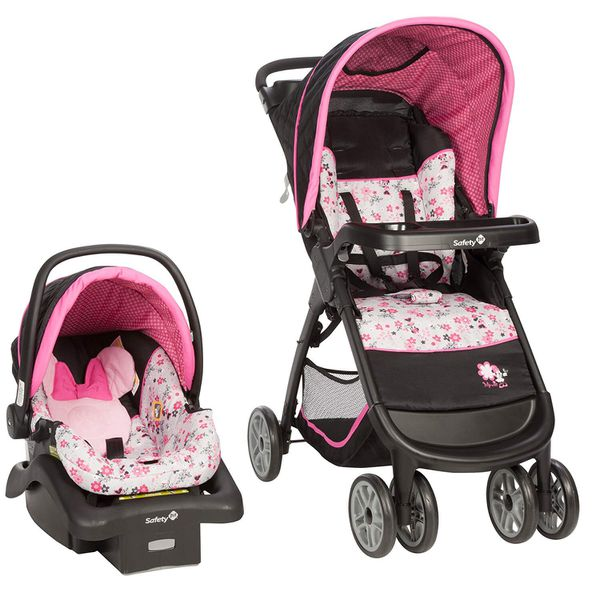 Minnie Mouse baby car seat/stroller