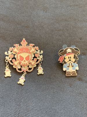 Disney Pirates of the Caribbean enamel pins for Sale in Kent, WA