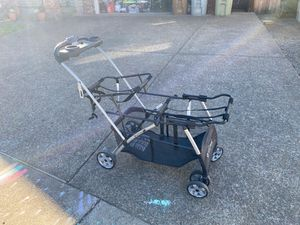 Twin car seat stroller for Sale in Forest Grove, OR