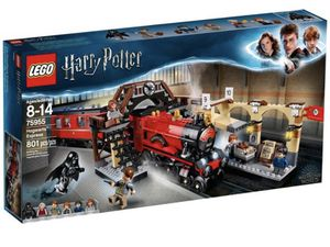 LEGO Harry Potter Hogwarts Express Train Set with Harry Potter Minifigures and Toy Bridge for Sale in Sanford, FL