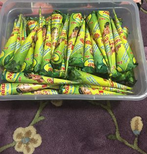 Naaz brand henna cones only in $3 for Sale in Lilburn, GA