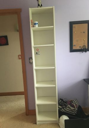 White ikea bookcase for Sale in Redmond, WA