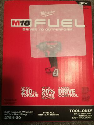 Milwaukee 3/8 impact wrench w/friction ring for Sale in Atlanta, GA