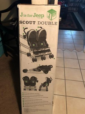 Double stroller for Sale in Houston, TX