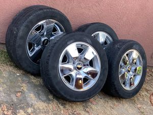 4 GoodYear Tires with sensors and rim for Sale in Santa Ana, CA