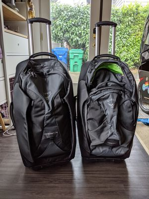 Osprey meridian 75 travel bags for Sale in Seattle, WA