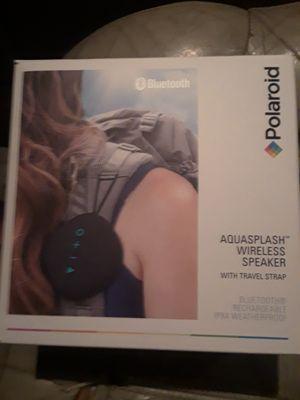 POLAROID Aquasplash Bluetooth Speaker for Sale in Round Rock, TX