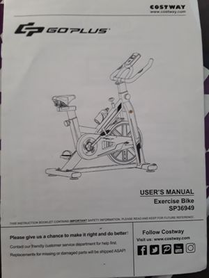 Go Plus Exercise Bike for Sale in High Point, NC