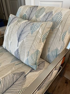 Modern custom accent chairs with leaf design for Sale in Mountain View, CA