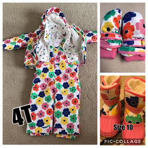 Complete Snow Suit Set with Snow boots for Sale in Colorado Springs, CO