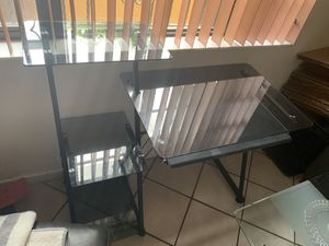 Glass Computer Table for Sale in Hialeah, FL