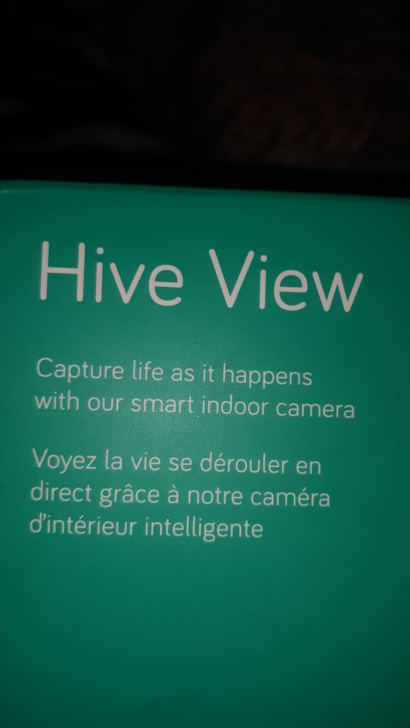 ATT HIVE VIEW INDOOR SMART WIFI SECURITY CAM