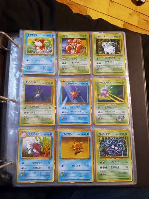 Japanese Pokemon cards from 90s for Sale in Winthrop, MA