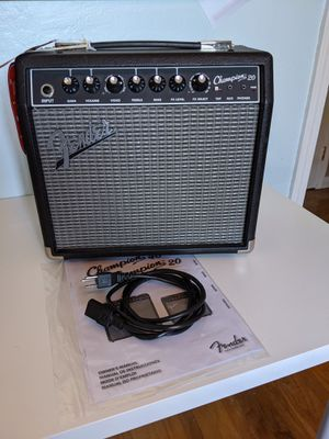 Fender Champion 20 guitar amp for Sale in Fremont, CA