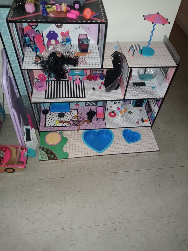 Lol surprise Doll House,