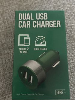 Apple Samsung Car Phone Charger IOS android for Sale in Arlington Heights,  IL