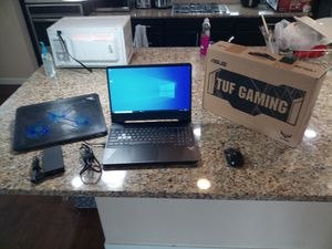 Asus FX505DT gaming laptop upgraded with extras for Sale in Auburn, WA