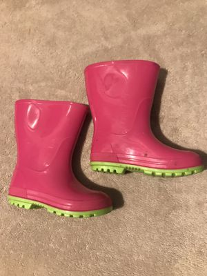 Toddler Girl Rain Boots for Sale in Elyria, OH
