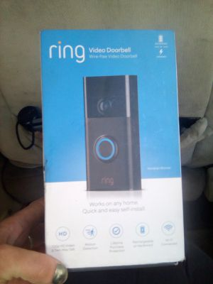 Ring video doorbell wire free for Sale in Sacramento, CA