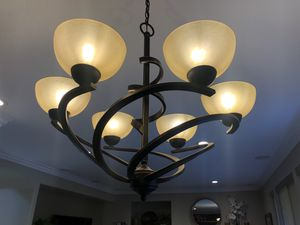 Beautiful Oil Rubbed Bronze Chandelier for Sale in Laguna Niguel, CA