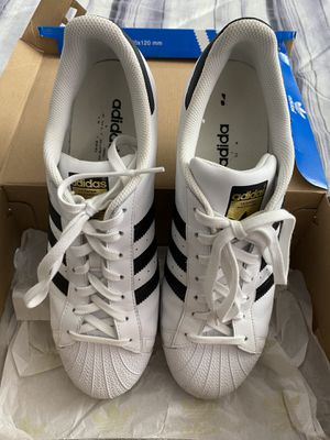 Adidas super stars size 12 men's for Sale in San Diego, CA