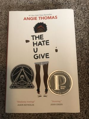 The Hate U Give by Angie Thomas for Sale in Greenville, NC