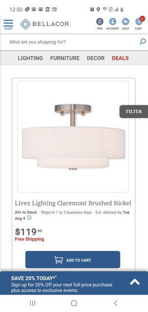 $75 LIVEX LIGHTING CLAREMONT for Sale in Las Vegas, NV