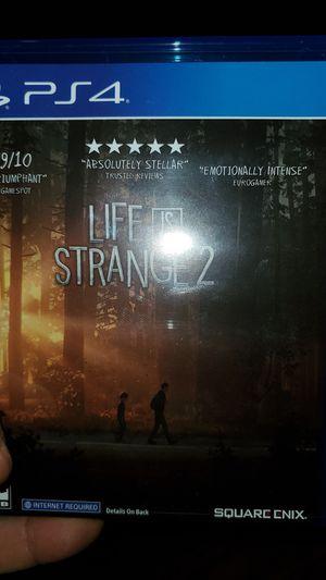 Ps4 life is strange 2 for Sale in Appomattox, VA