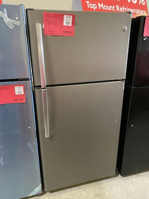 New GE Slate 21 CuFt Top Mount Refrigerator Fridge 1 Year Manufacturer Warranty Included for Sale in Gilbert, AZ