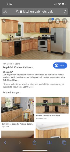 Brand new kitchen cabinets 600 obo for Sale in Lynwood, CA