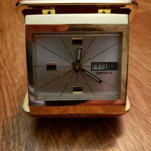 CARAVELLE (BULOVA) VINTAGE TRAVEL ALARM CLOCK for Sale in Bethesda, MD