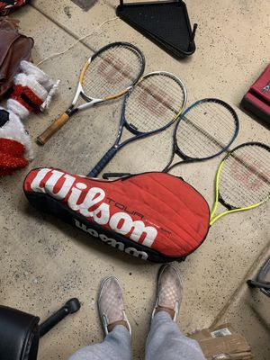 Tennis rackets and bag for Sale in Henderson, NV