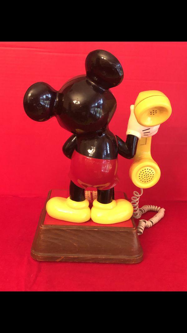 Disney Mickey Mouse touchtone phone