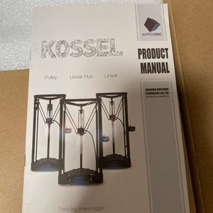 KOSSEL Linear Plus 3D Printer for Sale in Rowland Heights, CA