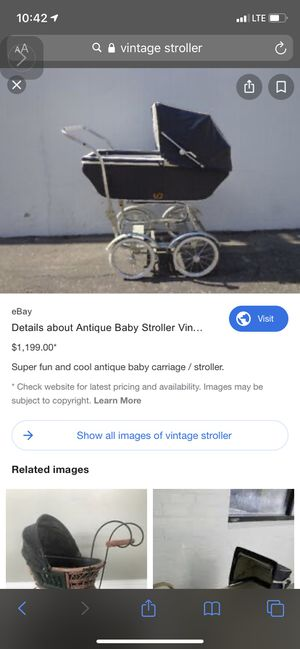 Vintage fully functional stroller for Sale in Auburn, WA