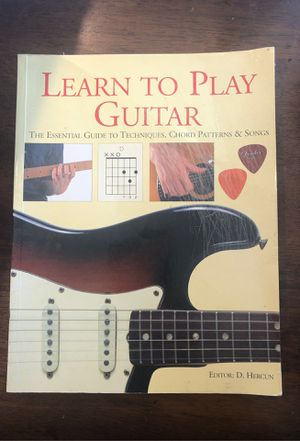 Learn to play Guitar Book for Sale in Costa Mesa, CA