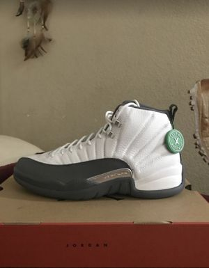 Jordan 12 Dark Grey Brand New! Size 10.5 / No Trades / Firm On 240$ for Sale in Turlock, CA