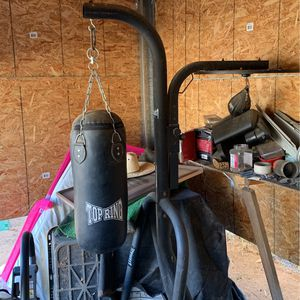 Punching Bag/speed Bag Flat for Sale in Riverside, CA