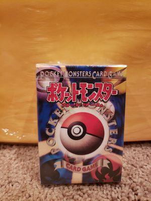 Japanese Pokemon Card Starter Set Sealed for Sale in BETHEL, WA