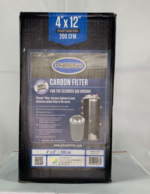 "Phresh Filter New in Box, 4""X 12"" 209 CFM for Sale in Los Angeles, CA"