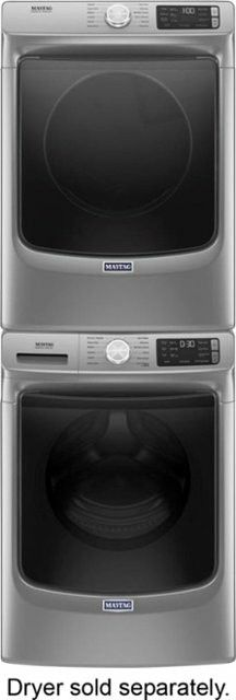 Maytag front load washer & electric dryer metalic slate set new