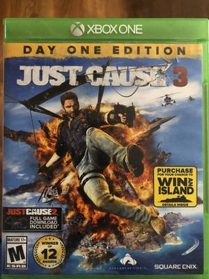 Xbox One Just Cause 3 for Sale in Nashville, TN