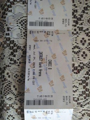 4 Cardi B, Kevin Gates tickets. for Sale in Wichita, KS